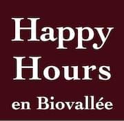 Happy Hours en Biovallée Logo